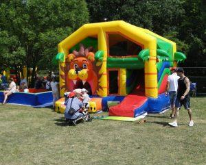 Fun Purk przy Hali Stulecia – atrakcja dla dzieci spędzających lato w mieście